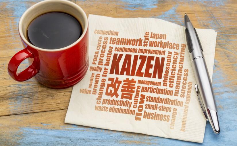 Kaizen,-,Japanese,Continuous,Improvement,Concept,-,Word,Cloud,On