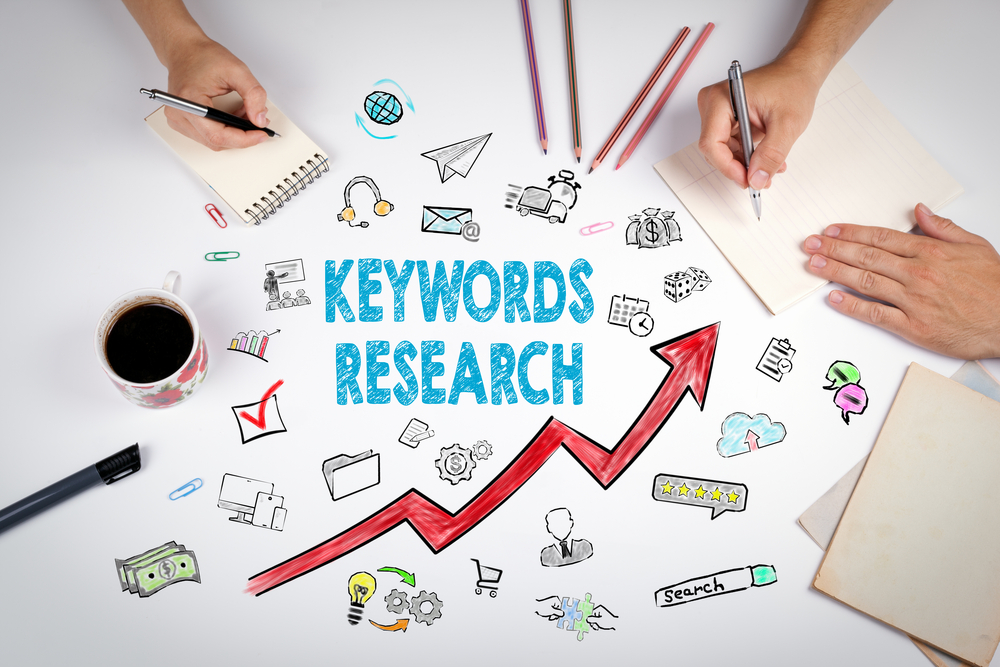 Keywords,Research,Business,Concept.,The,Meeting,At,The,White,Office